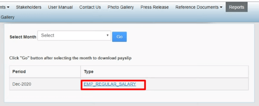emp regular salary