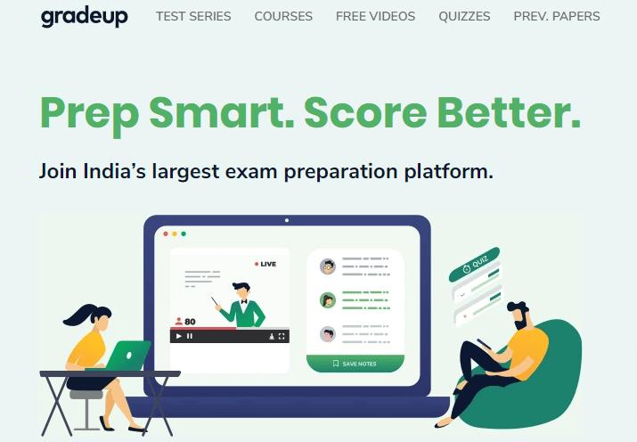 gradeup exam preparation platform